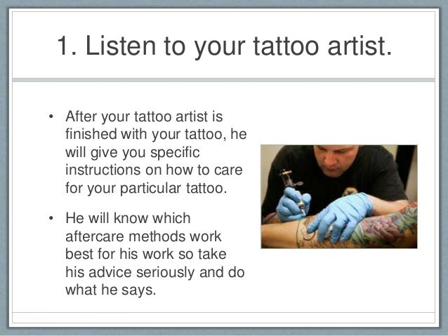 after tattoo care instructions saniderm