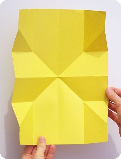instructions for turkish fold card