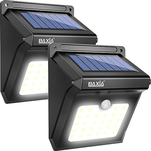 baxia solar motion sensor light instructions