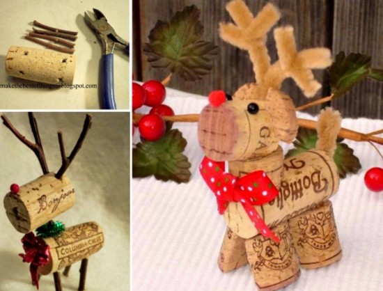 wine cork ornaments instructions snowflake