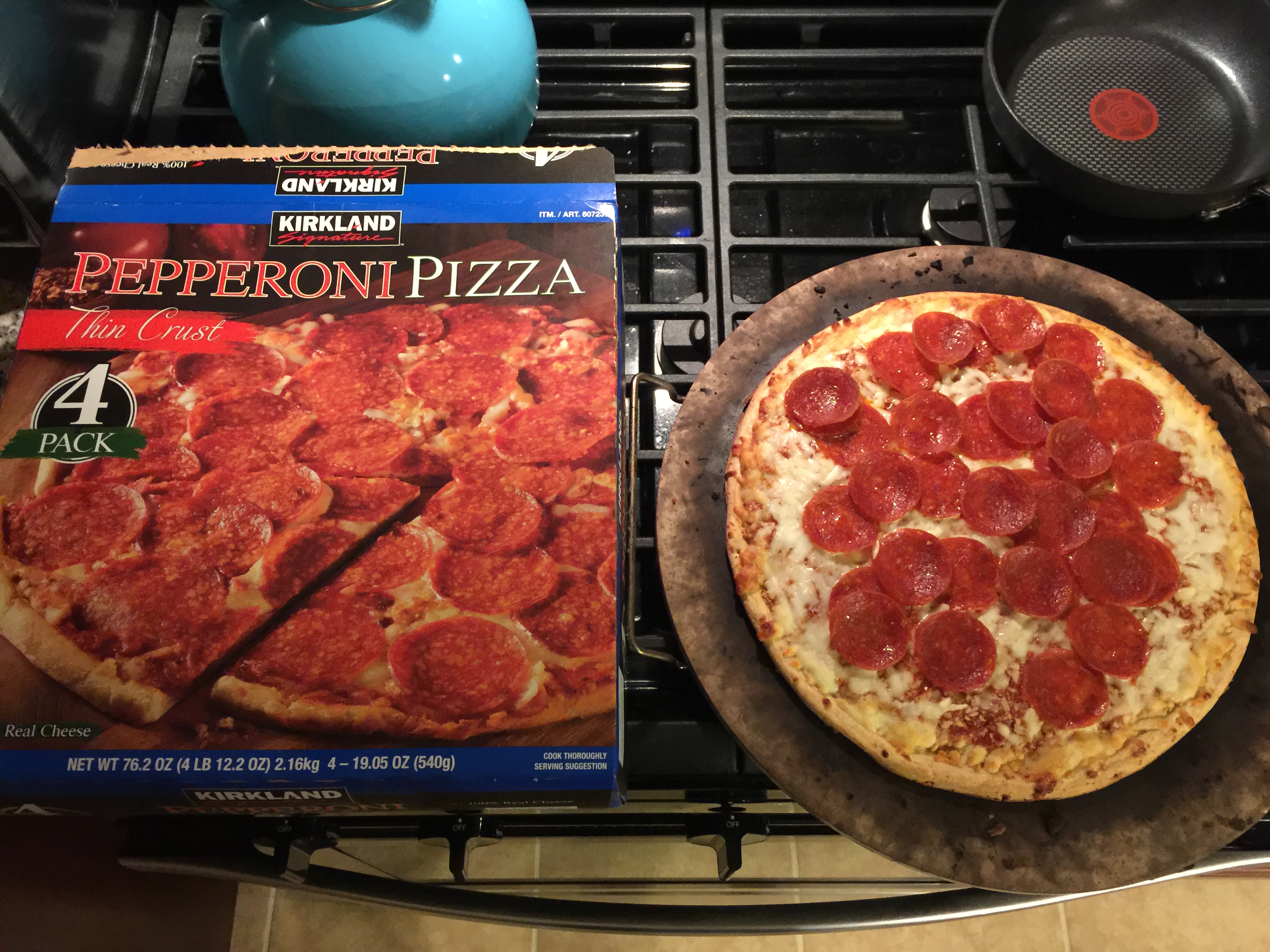 costco cheese pizza frozen instructions