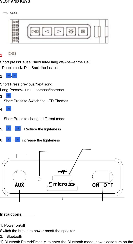 zumreed bluetooth drop speaker instructions