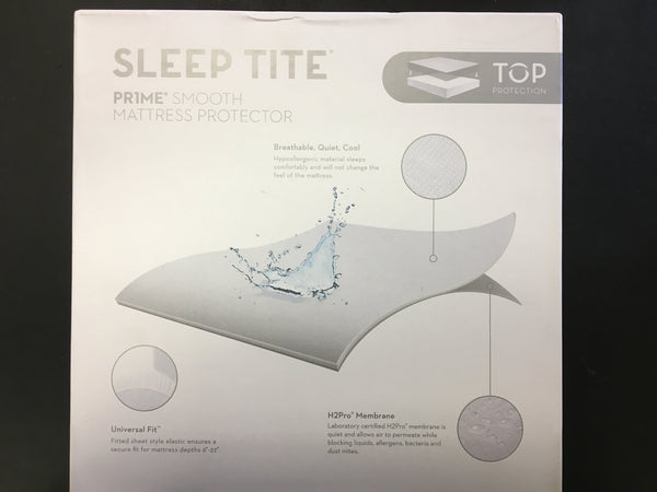sleep tite mattress protector care instructions