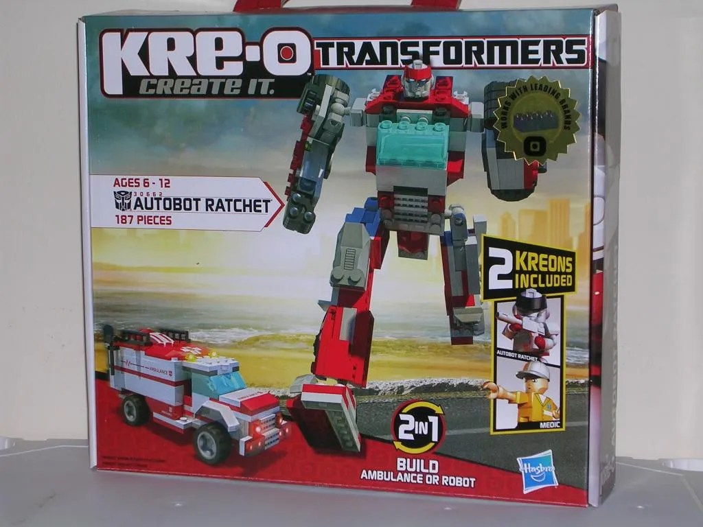 instruction kre-o transformers optimus prime
