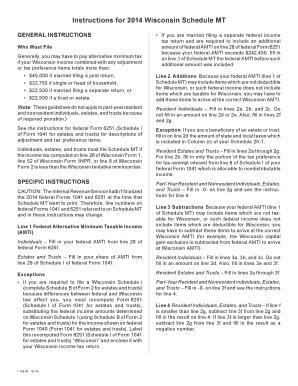 2014 wisconsin 1npr instructions