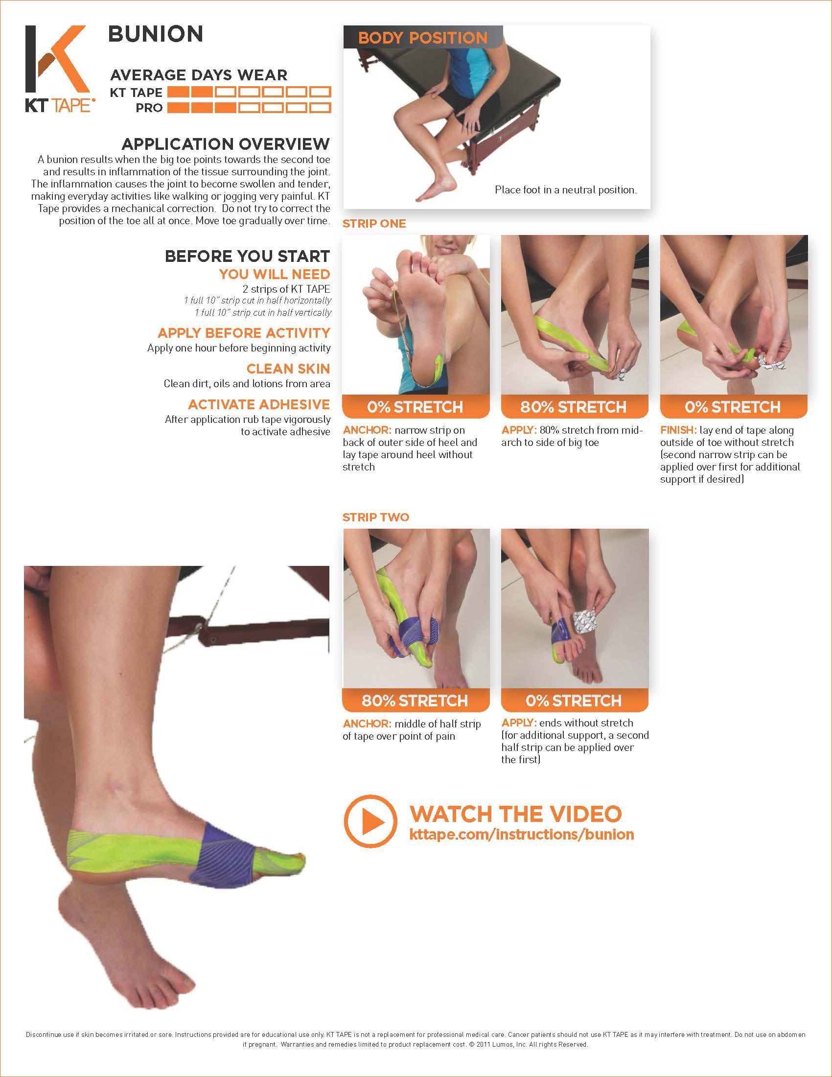 kt tape pro x instructions for shoulder