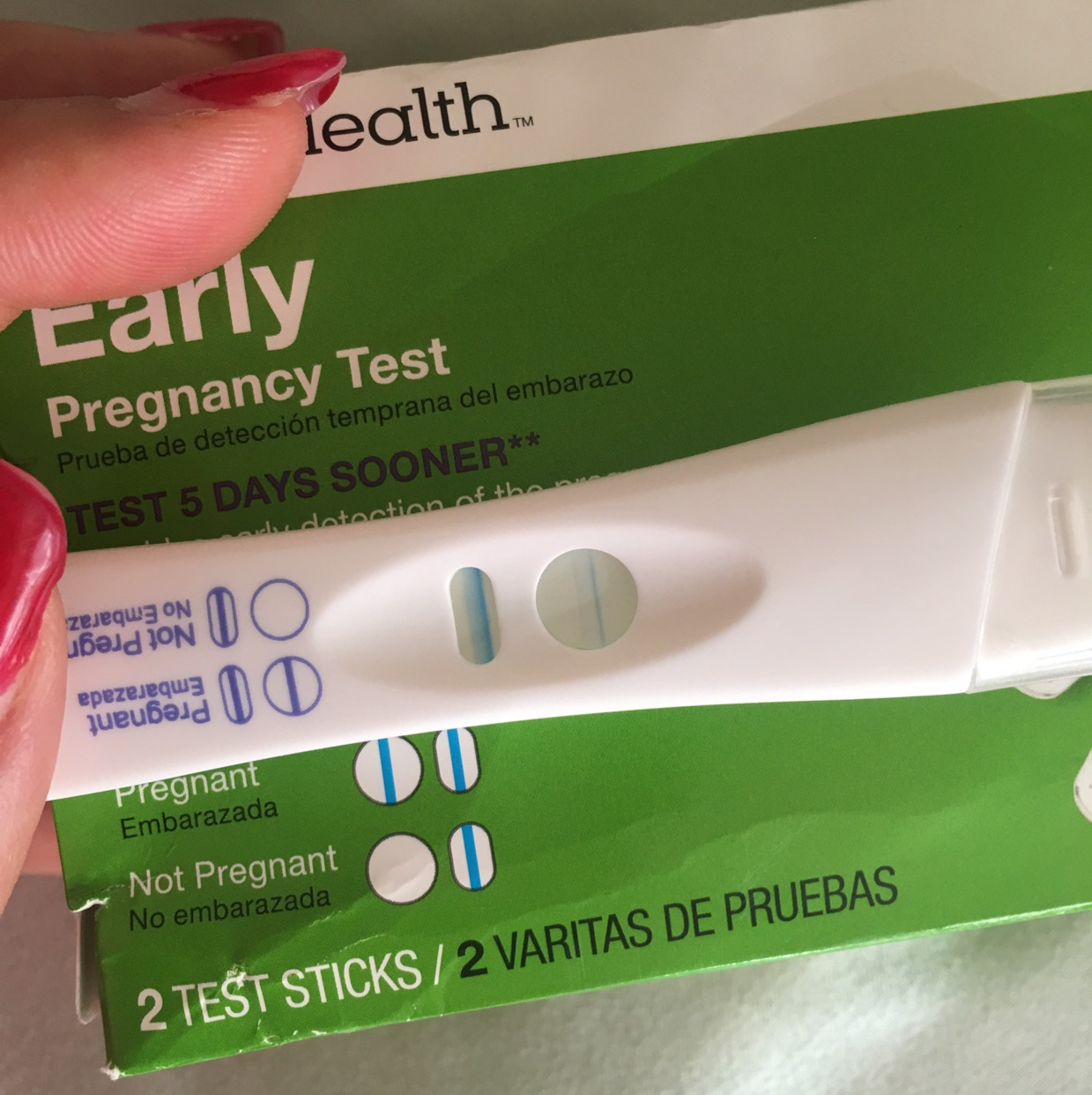 cvs first response pregnancy test instructions