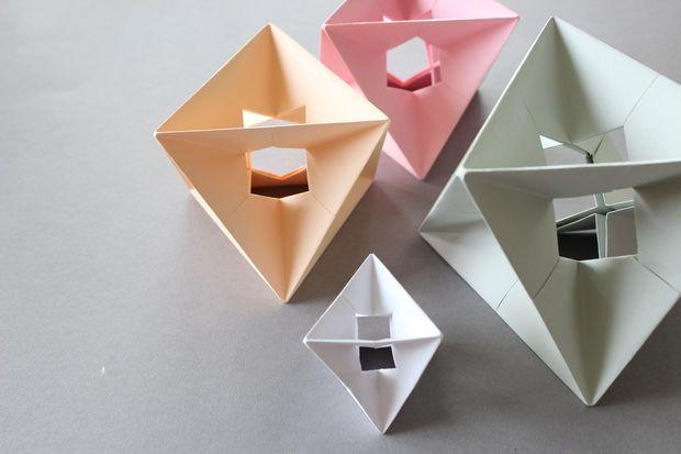 origami modular spinner instructions