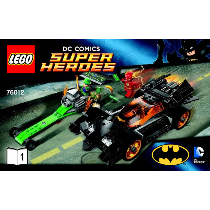 riddler car lego instructions