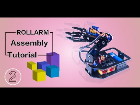 wired control robot arm kit instructions