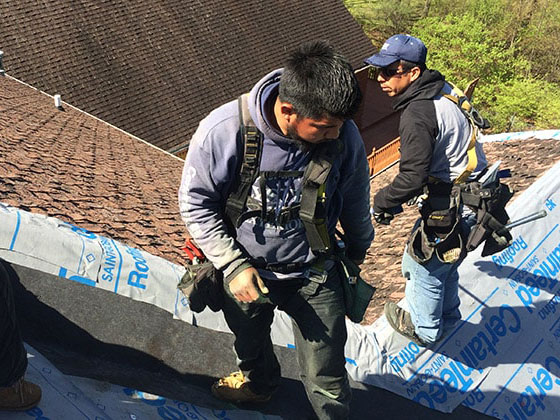 new roof installation instructions