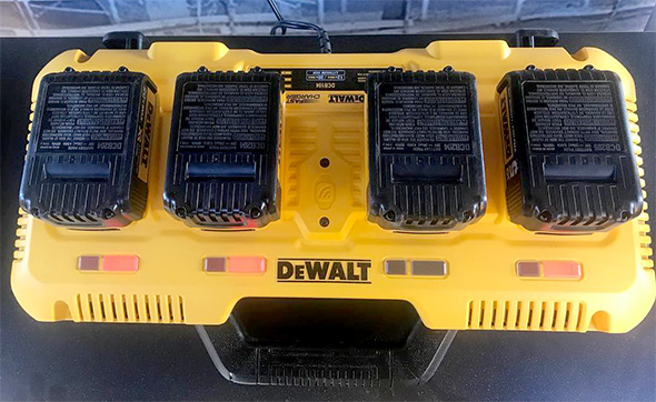 dewalt charging station instructions