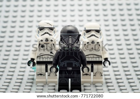 lego death trooper instructions