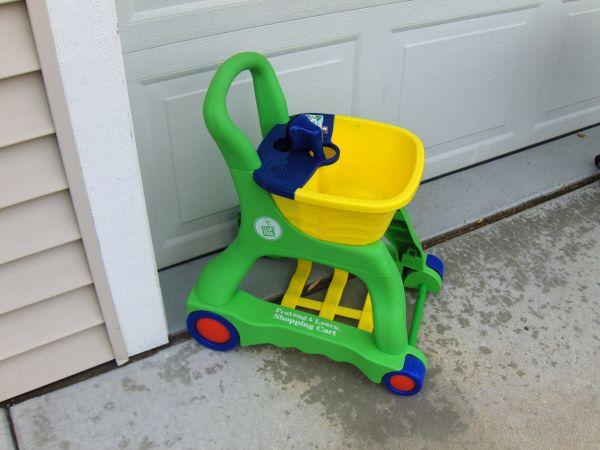leapfrog pretend and learn shopping cart instructions