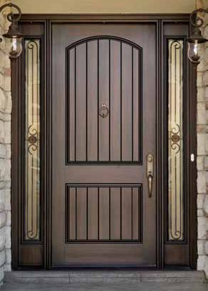 fiberglass door staining instructions