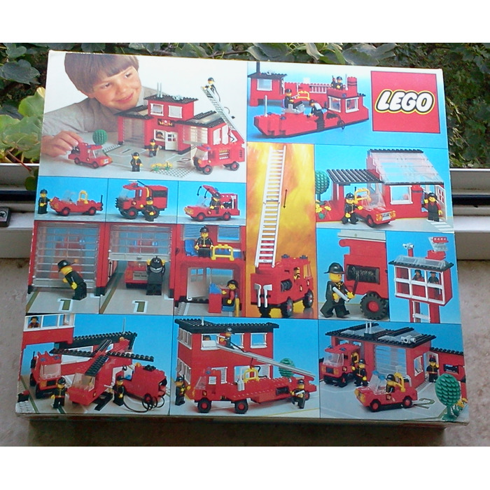 lego instructions fire station 6382