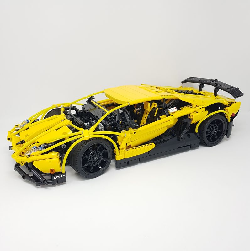 how to make a lego lamborghini instructions