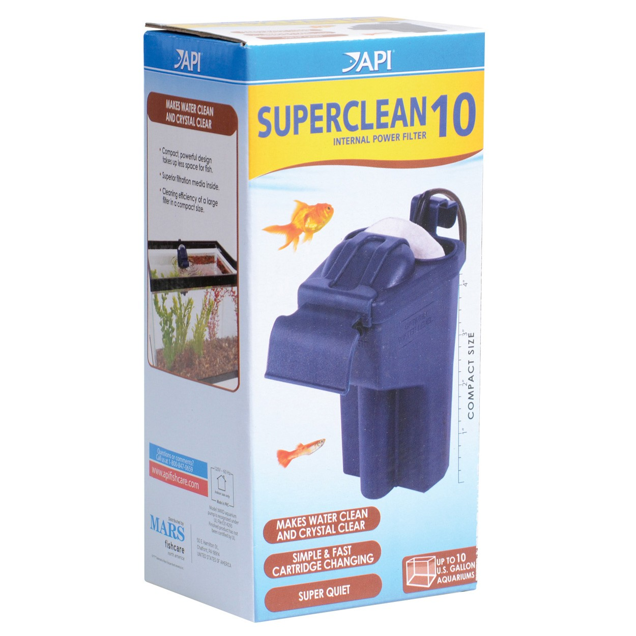 api superclean power filter instructions