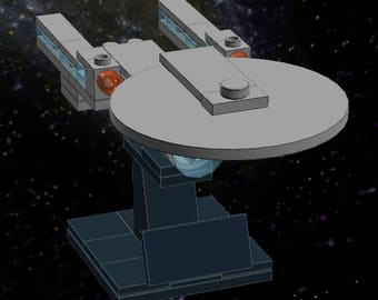 lego star trek enterprise d instructions