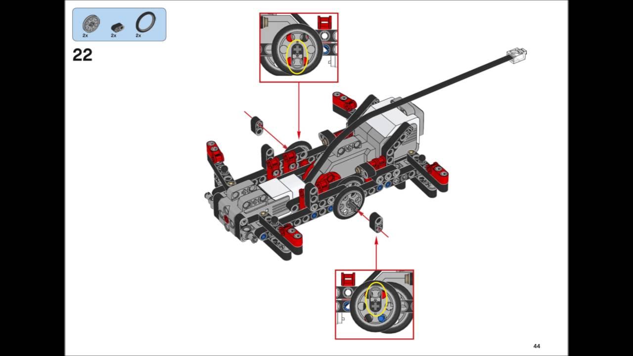 ev3 tribot building instructions