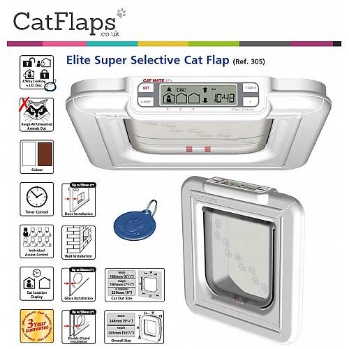 cat mate elite selective instructions