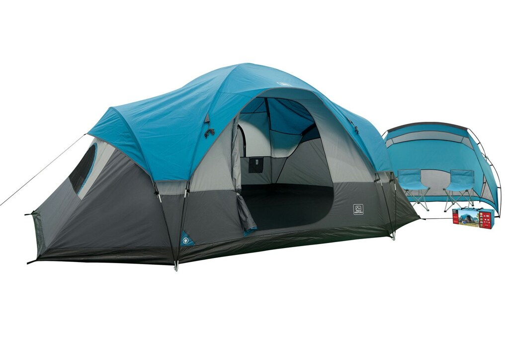 instructions for ventura 5 piece tent