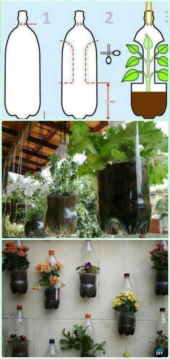 pop bottle planter instructions