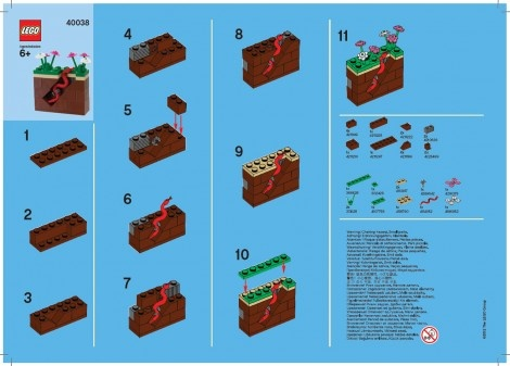 lego reindeer instructions mini build