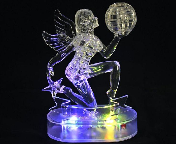 3d crystal star puzzle instructions