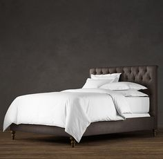 restoration hardware chesterfield bed instructions