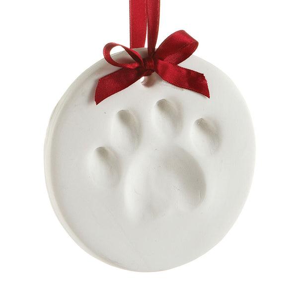 paw print ornament kit instructions