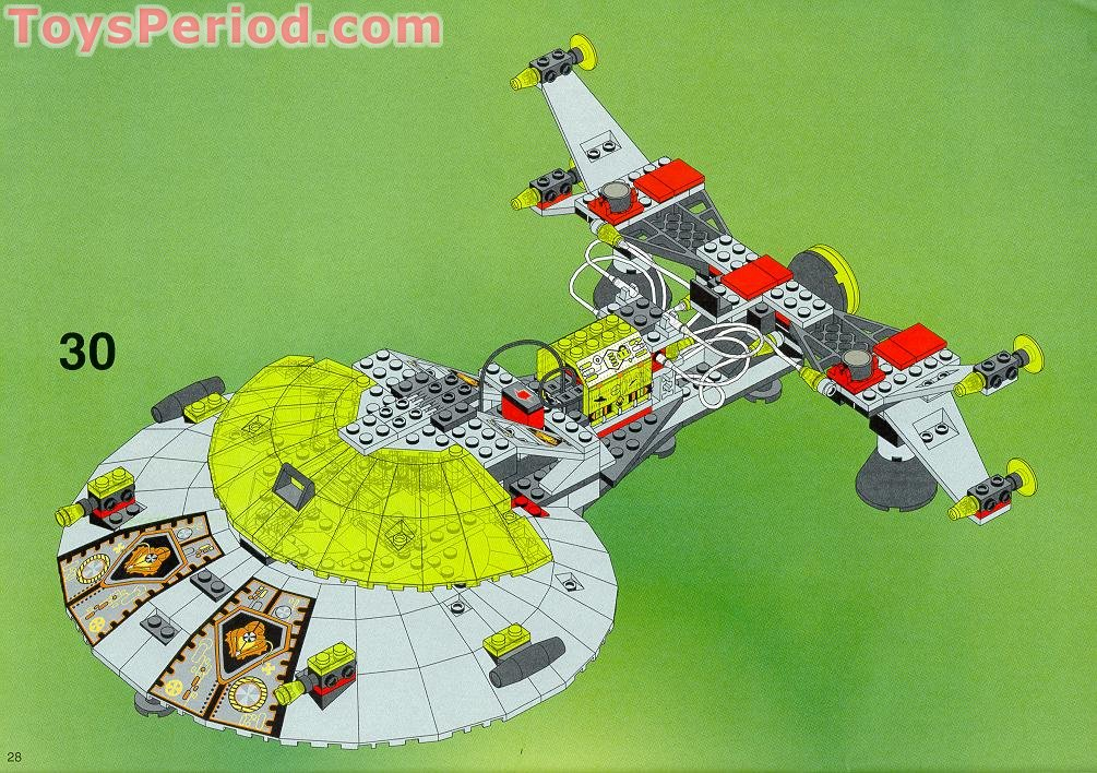 lego 6979 interstellar starfighter instructions