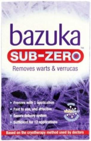 bazuka sub zero instructions