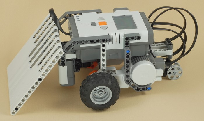 lego mindstorms nxt 2.0 robotic arm building instructions