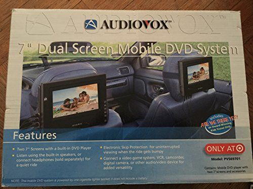 audiovox portable cd player instructions