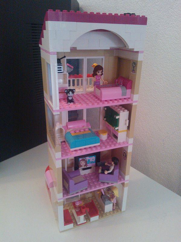 lego friends building sets instructions