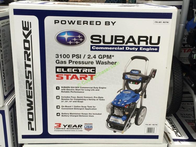 starting instructions for subaru ea190v electric start
