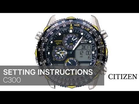 citizen bl5250 02l instruction manual