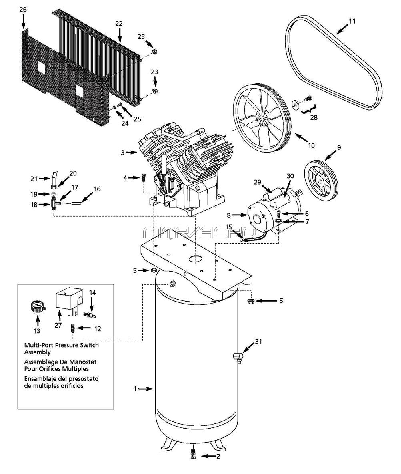 coleman 90342 pump instructions pdf
