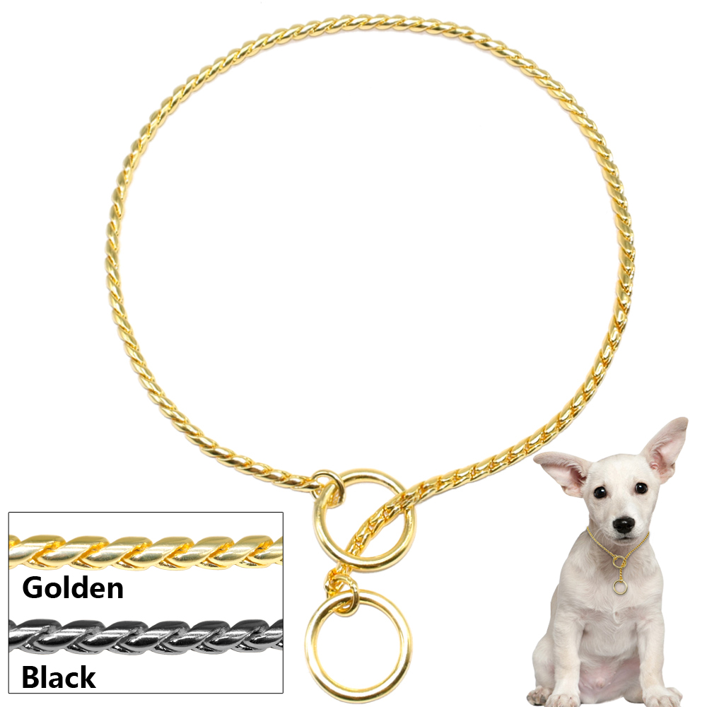 choke chain collar instructions