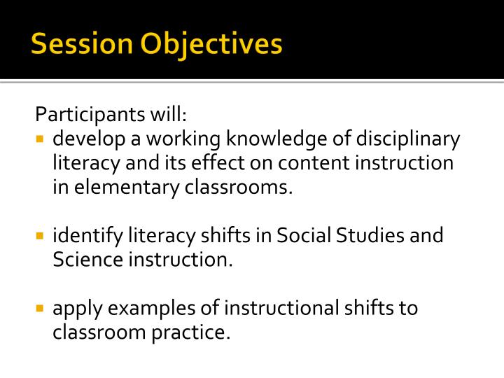 disciplinary literacy instructional strategies