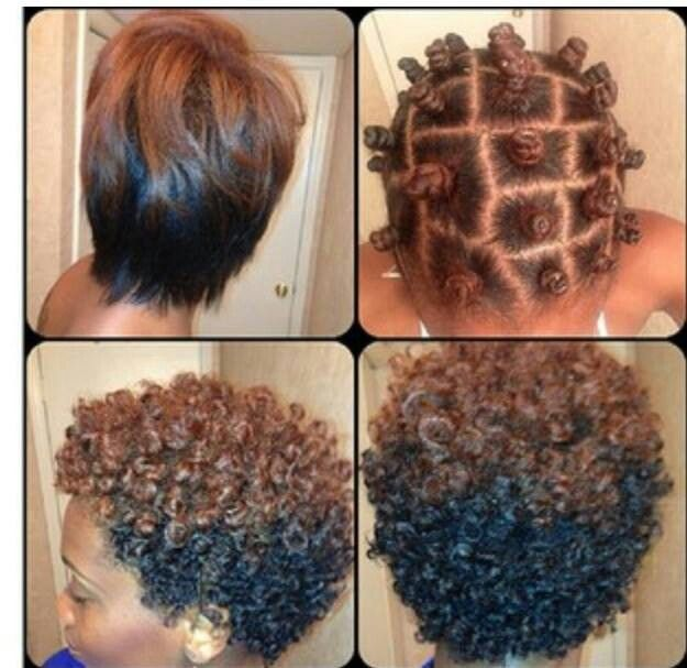 bantu knots step by step instructions