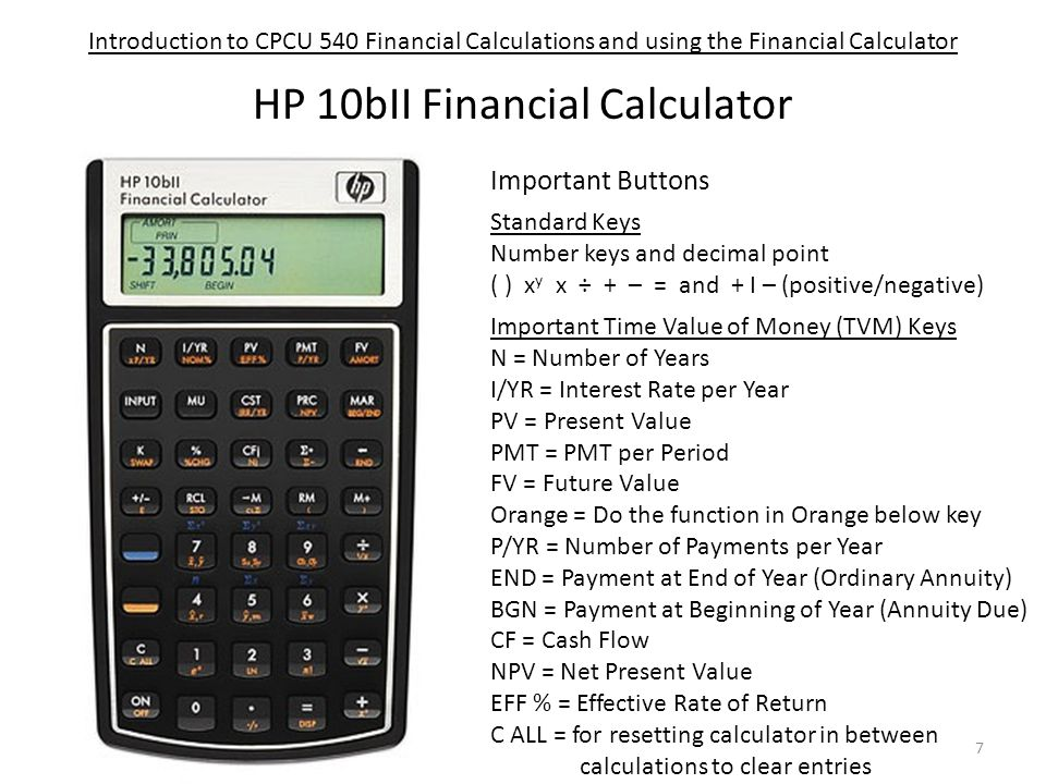 instructions to get 4 decimal places for hb 10bii+