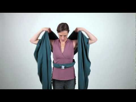 baby wearing wraps instructions
