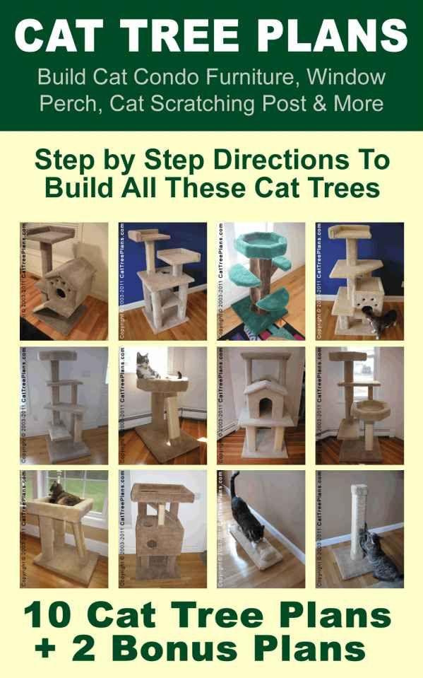 cat craft cat tree instructions