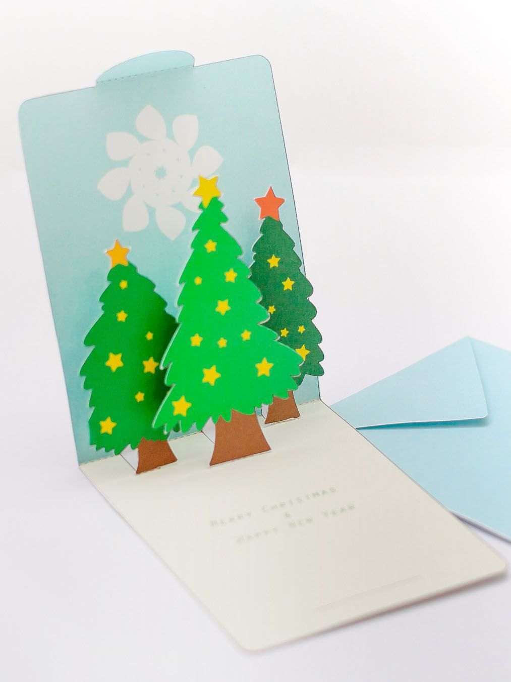free christmas card making instructions