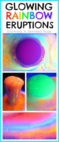 glow explosion paint instructions