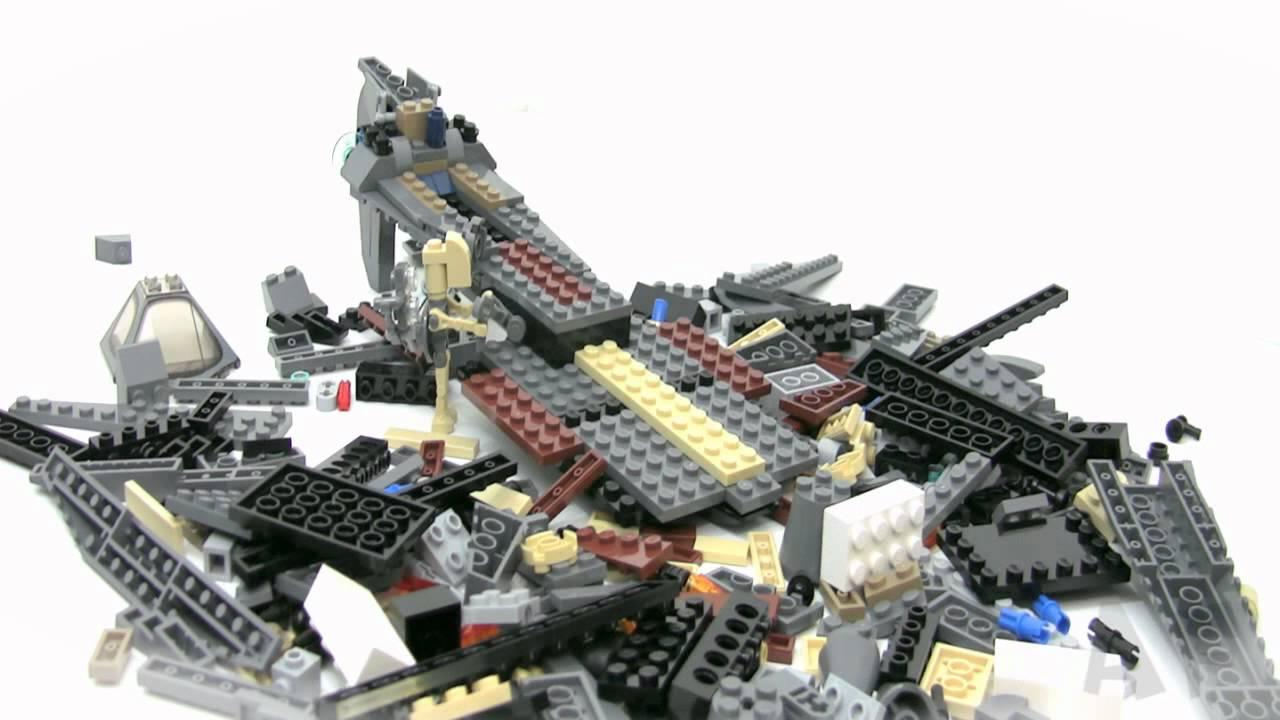 instructions lego star wars general grievous starfighter