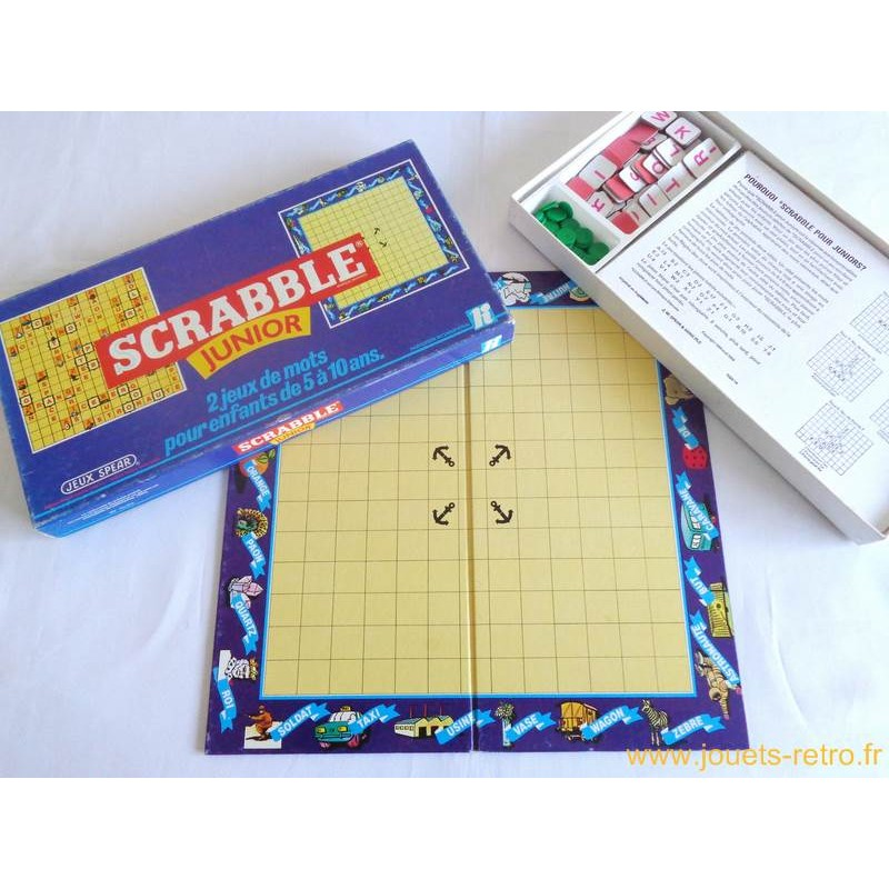 junior scrabble instructions spears games