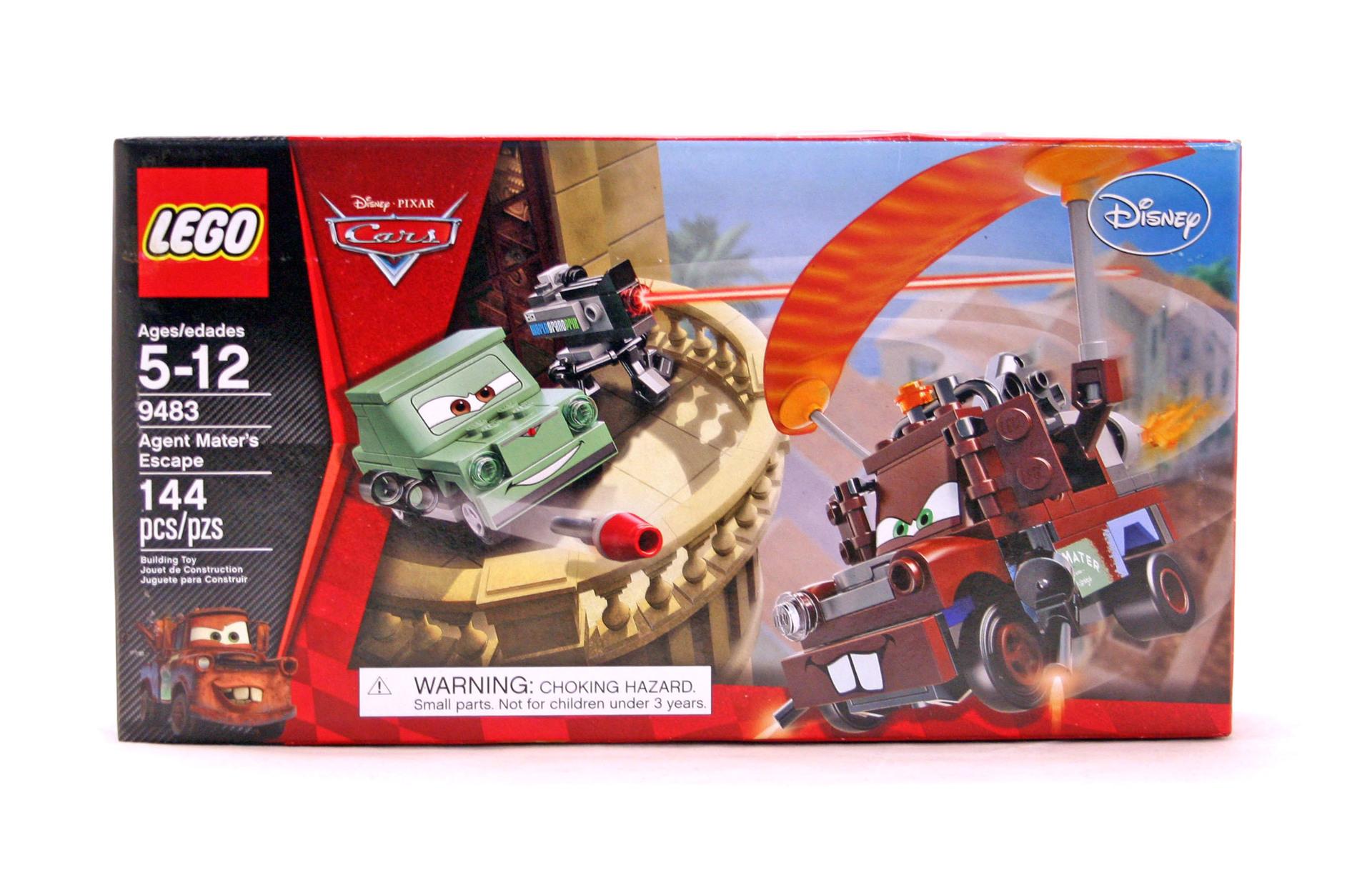 lego cars 2 francesco instructions